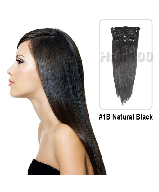 Clip In Hair Extensions Natural Black Is Available From Hair100 Now