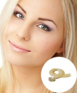 Micro Loop Hair Extensions Medium Blonde