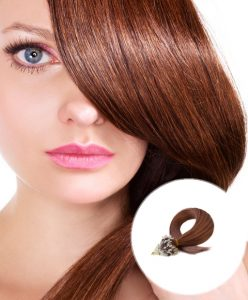 Micro Ring Hair Extensions Rich Cooper Red