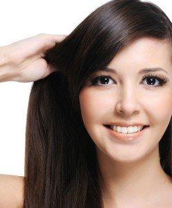 clip hair darkest brown