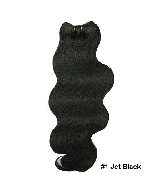 Hair Weaves Body Wave #01 Jet Black
