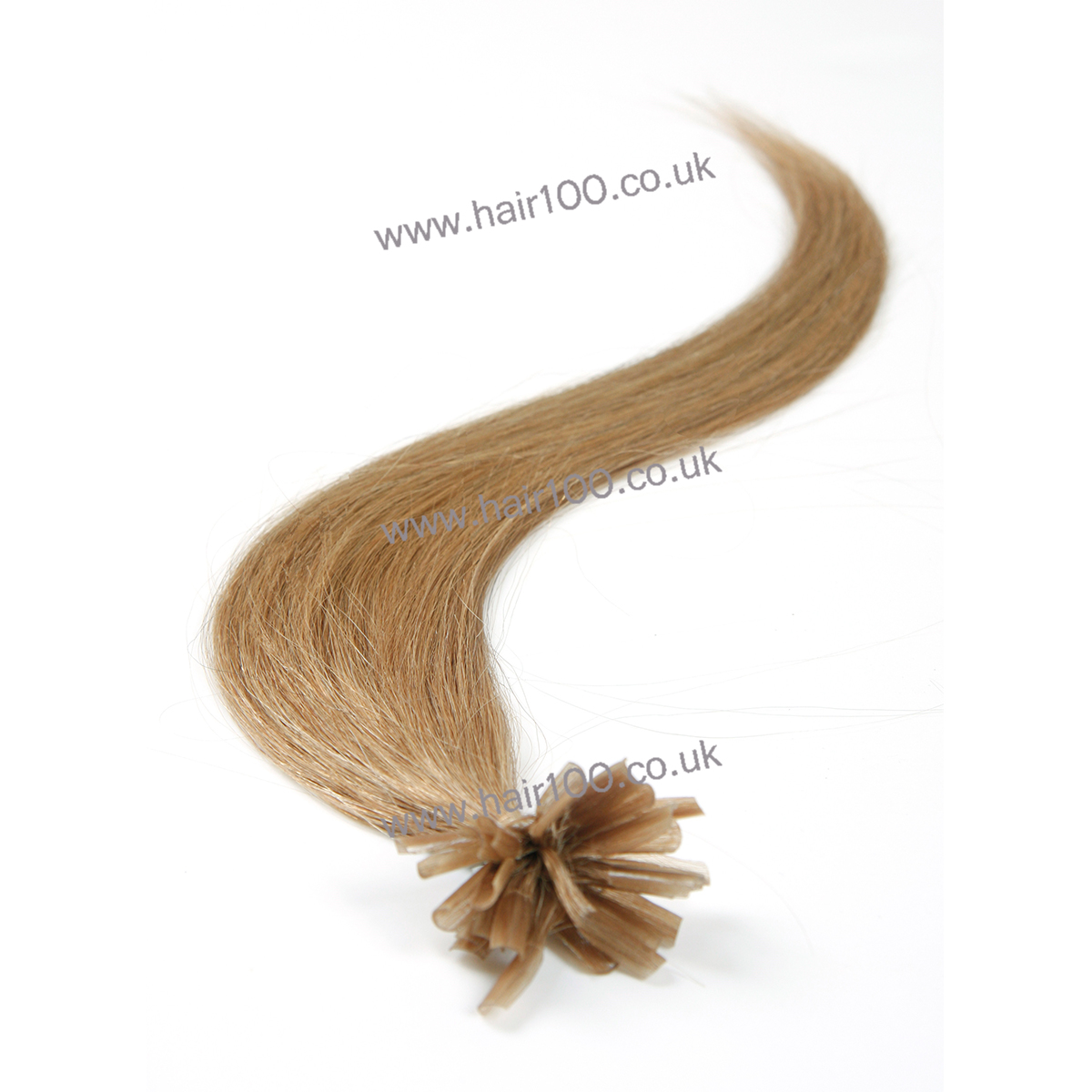 Nail Tip Pre Bonded Hair Extensions Remy Indian Hair