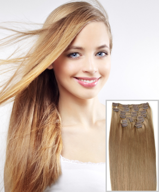 Buy Clip On Hair Extensions Cheaper In The Uk From Hair100