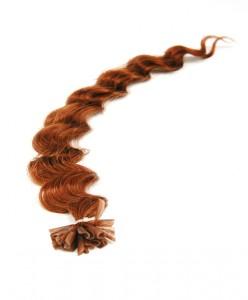 deep wave pre bonded hair extensions Auburn
