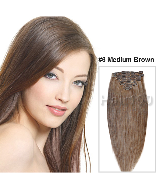 Clip In Hair Extensions Real Human Hair Hair100