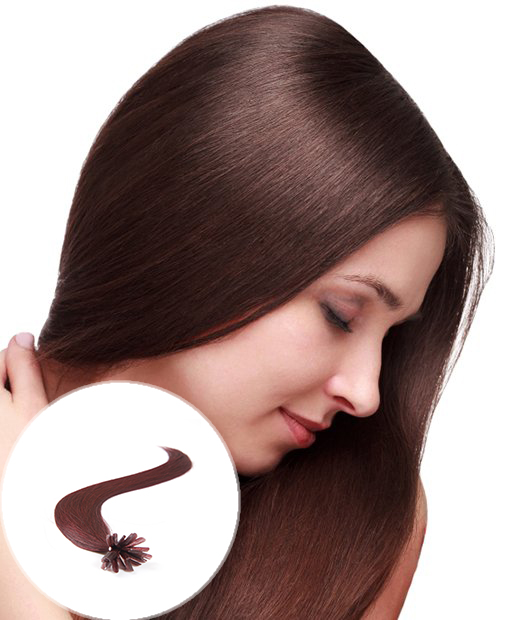 pre bonded hair extensions dark wine
