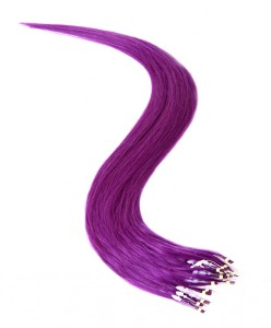 Micro Ring Hair Extensions Purple