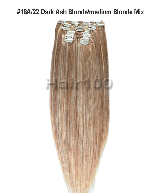 Clip In Hair Extensions 18a22 Is Available From Hair100 Now